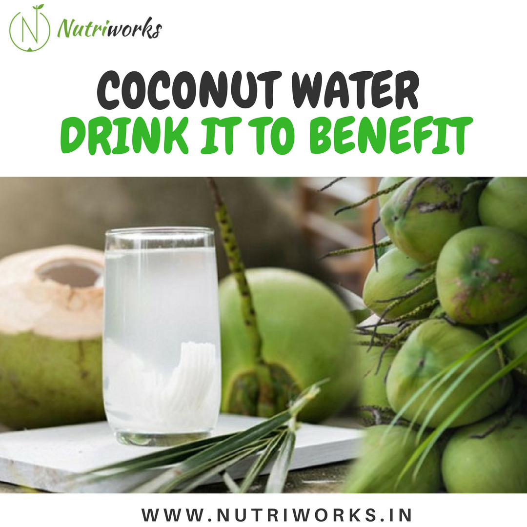 Coconut water - Drint it to benefit