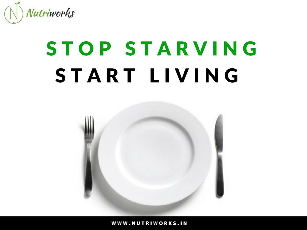 STOP STARVING START LIVING