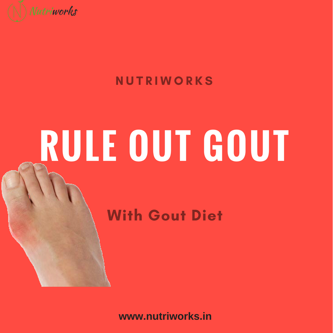 Rule Out Gout - With Gout Diet - Nutriworks
