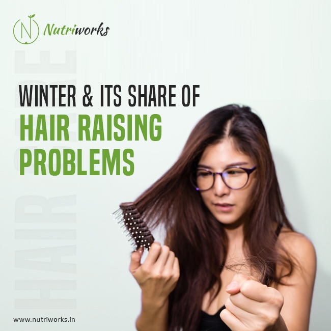 Winter hair raising problems