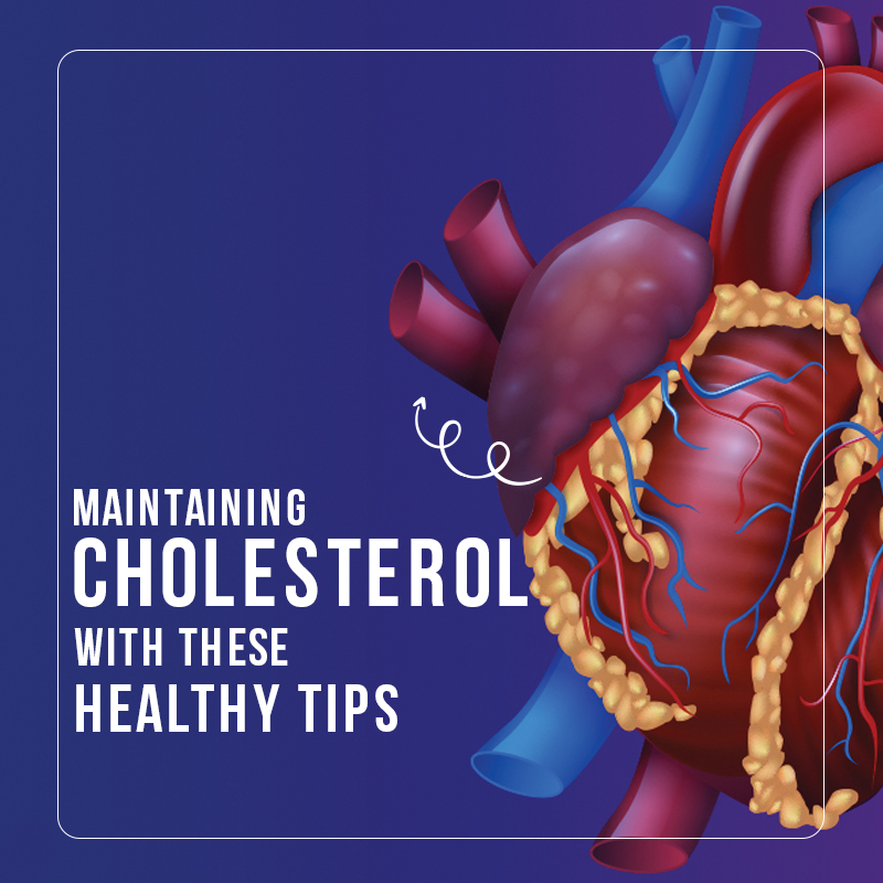 maintain cholestrol with these healthy tips