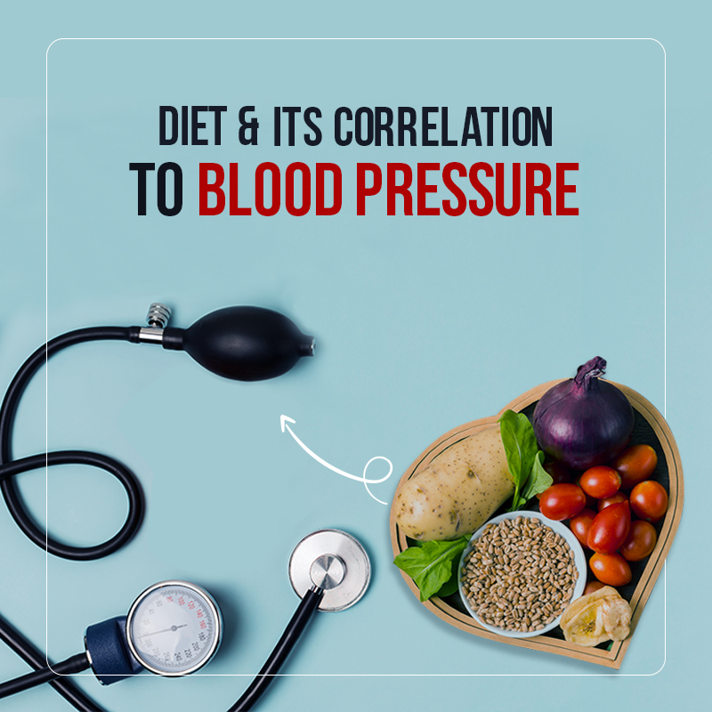Diet and its correlation to Blood Pressure
