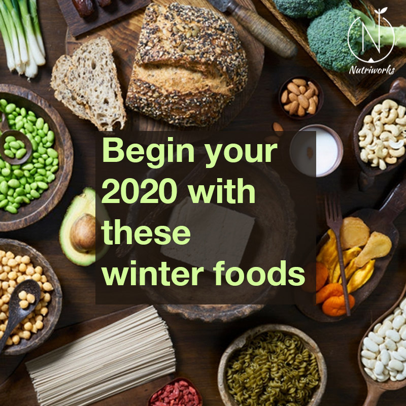 Begin your 2020 with these winter foods
