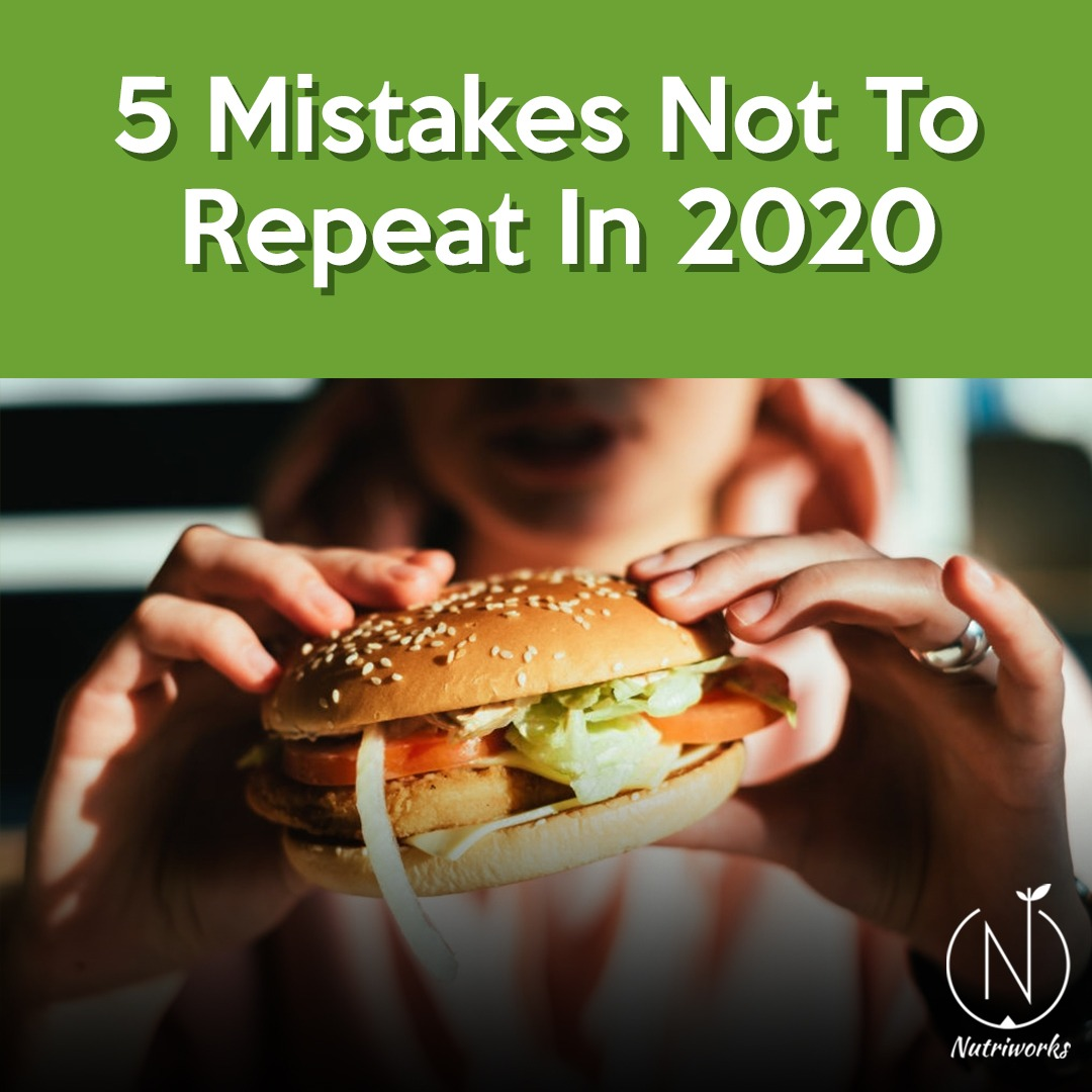 5 mistakes not to repeat in 2020