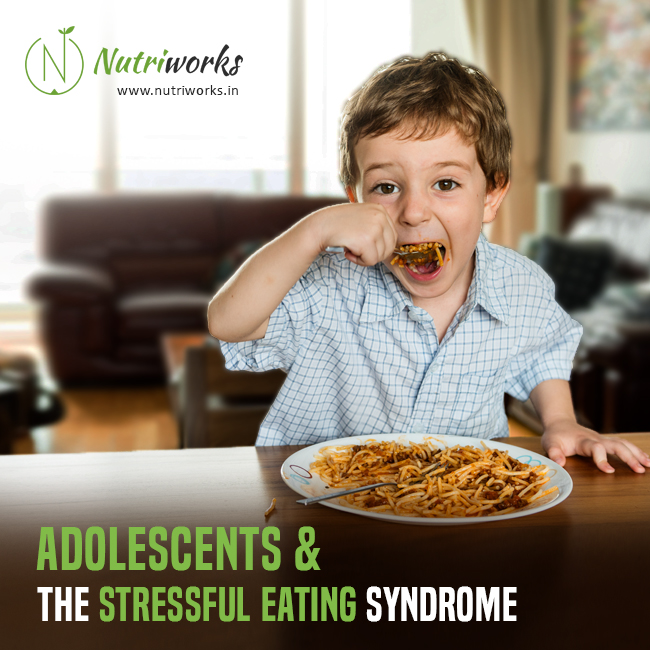 Adolescents and the Stressful Eating