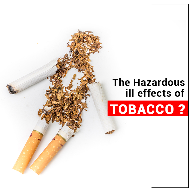 Hazardous ill effects of tobacco