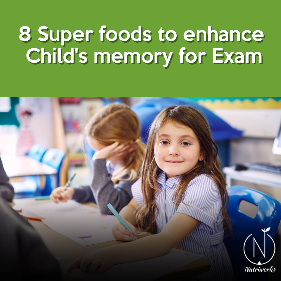 8 Super foods to enhance child's memory for exam